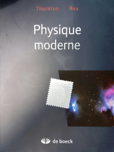 Physique moderne by Thornton & Rex