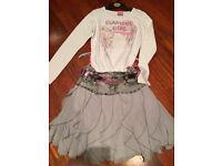 Pampolina 8/9 yr skirt& top