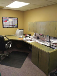 OFFICE FILING CABINETS & FURNITURE for sale (relocating)