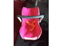 Dolls toy 'Smoby' car seat