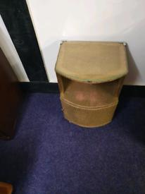 Lloyd loom cabinet