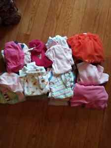 Baby girl mixed bag of clothes 3-6months,