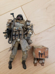 THREEA ASHLEY WOOD GRUNT PRIVATE FUCHS * 1/12 scale (NEUF - NEW)