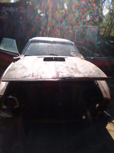 1973 mustang parts car only
