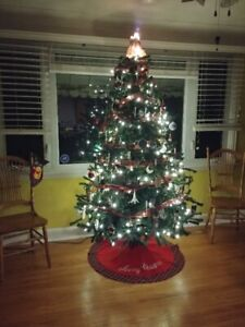 6.5 Foot Artificial Christmas Tree For Sale