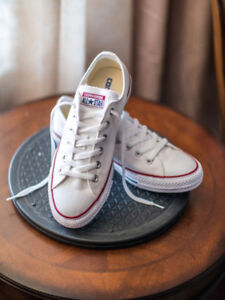 Converse CT All Star Ox Low Top  (white, NEW)