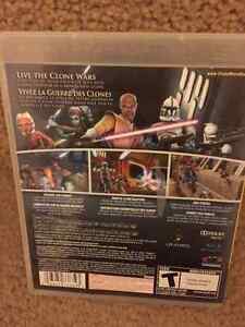 Star Wars The Clone Wars Republic Heros  - for the Playstation 3 Cambridge Kitchener Area image 2