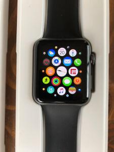 Apple Watch Série 1. Montre et Batterie, Condition Impeccable.
