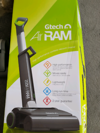 Vacuum cleaner, GTech AirRam MK2 Cordless Upright Bagless