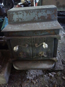 FISHER WOOD STOVE FIREPLACE
