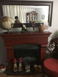 Electric Fireplace Heater - excellent condition