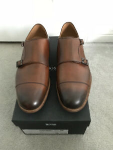 Brand New Hugo Boss Double Monk Strap Size 9