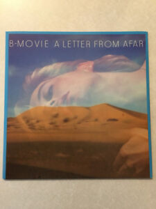 "B-MOVIE ""A Letter From Afar"" Vinyl 12"" (1984)(45 RPM)(Mint)"