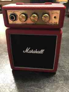 Marshall MS-2R - 1W Battery-powered Red Micro Amp