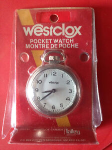Made in Peterborough Westclocx Pocket Watch Peterborough Peterborough Area image 1
