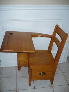 Antique student desk Oakville / Halton Region Toronto (GTA) image 1