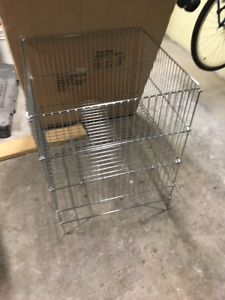 24X24 chrome dump liquidation bin