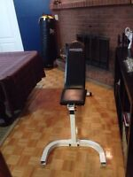 Universal fitness workout bench $10