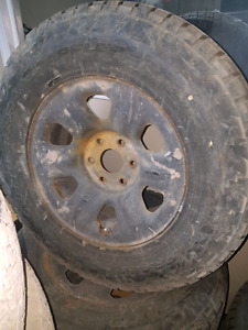 Nissan titan rims nd tires