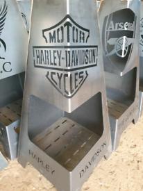 Steel firepits 🔥 garden patio heater