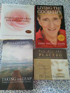 3 Books (2 brand new) and 1 CD (brand new).  MOTIVATIONAL!