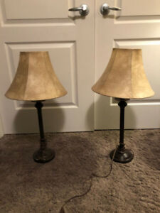 Two Table lamps in great shape