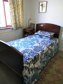 Large Edwardian single bed - 3ft 6inches.