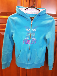 2 Hurley hoodies for sale