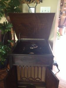 Antique Record Player
