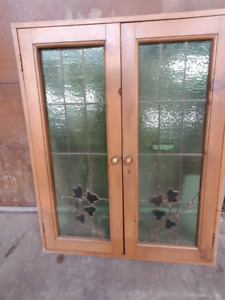 Stained Glass Window Doors