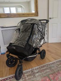 Mountain buggy Duet stroller, 2.5, rain cover, bassinets etc