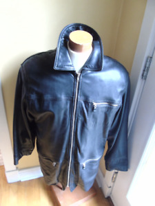 DANIER MENS LEATHER THINSULATE  JACKET