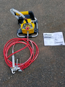 Wagner paint sprayer - used only once