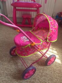 Kids Minnie Mouse pram