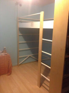 "Loft/Bunk Bed -  Ikea ""Lo"" + extra level included!"