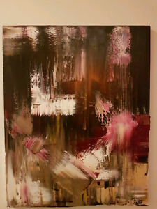 Abstract painting $40