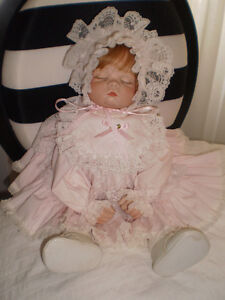 Adorable Hand Made Porcelain Baby Doll West Island Greater Montréal image 3