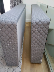 King Size bed frame and box springs