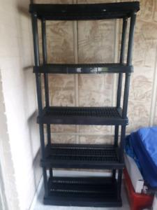 Resin shelf
