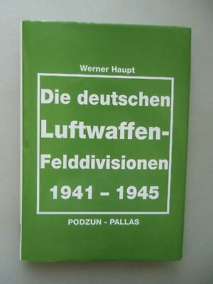 3 Bücher deutschen Luftwaffen-Felddivisionen Luftkrieg Flugzeug 1933-1945
