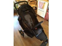 Phil and teds explorer double buggy in very good used condition - lots of attachments