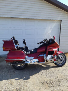 Get noticed on this RED HONDA GOLDWING