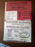 Screws, Washers and Finishers