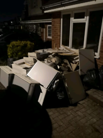 Waste management, rubbish removals, cheaper than a skip, man with van