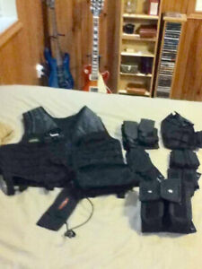 paintball vest with attachments