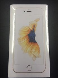 Iphone 6s,gold,allnetwork,64gb, Brandnew,sealed