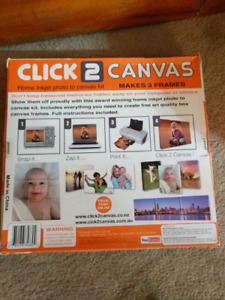 Canvases for photo printing