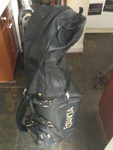 Belding Sport Custom Tour Golf Bag . Leather with leather cover London Ontario image 8