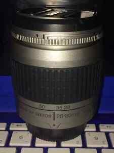 Nikon 28-80mm AF Nikkor lens