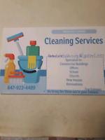 Contract  for Cleaning Service